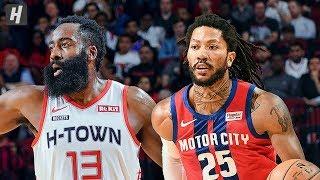 Detroit Pistons vs Houston Rockets - Full Game Highlights | December 14, 2019 | 2019-20 NBA Season