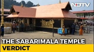 On Sabarimala, SC refers issue of women entry to larger be..