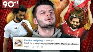 """Liverpool WON'T Win The Champions League"" 