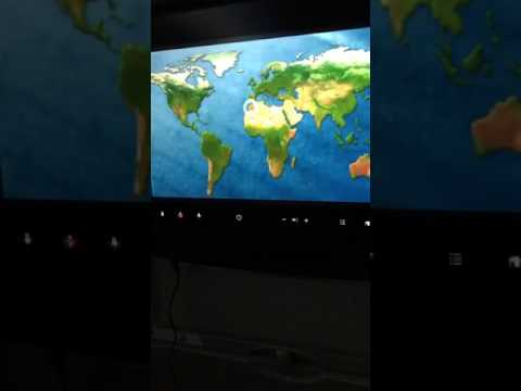 صدمة .. شاهد خريطة المغرب بدون صحراء داخل طائرة