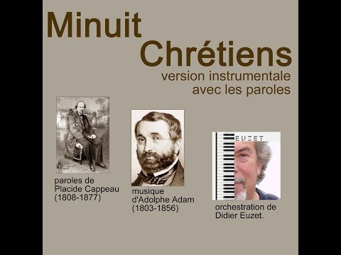 Minuit Chrétiens (version instrumentale avec paroles)
