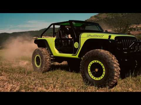 Jeep Trailcat drive at Camp Jeep 2016
