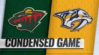 03/05/19 Condensed Game: Wild @ Predators