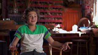 A QUIET PLACE Behind The Scenes Interview - Noah Jupe