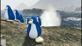 GTA 5 - Hành trình chú chim cánh cụt tò mò | GHTG
