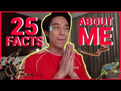 25 FACTS About Me   KAYAVINE