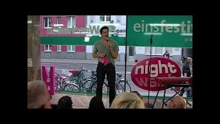 Alain Frei bei NightWash live am 26.05.2014