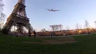 Street Kiting in Paris with Acoustik UL-D