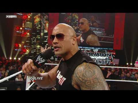 The Rock l'hôte WrestleMania 27