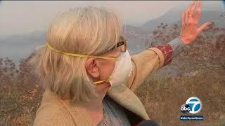 Thomas fire resurges near Montecito | ABC7