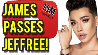 James Charles passes Jeffree Star in subs | Sisters Apparel WORSE | Sisters Tour Sold Out!
