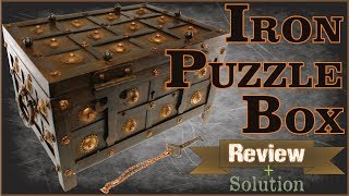 IRON PUZZLE BOX - Review and Solution from Puzzle Master