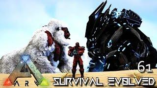 ARK: SURVIVAL EVOLVED - TEK GORILLA PRIMORDIAL MEGAPITHECUS BOKITO !!! E61 (ARK EXTINCTION CORE)