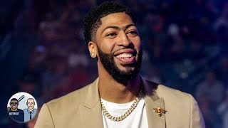 Pelicans winning NBA draft lottery paves the way for Anthony Davis to the Lakers | Jalen & Jacoby
