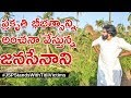Watch: Pawan Kalyan estimating the loss to farms due to Titli Cyclone