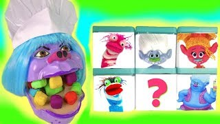 The Chef Gets Rainbow Play Doh Teeth & Opens Surprise Blind Boxes