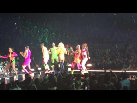 Britney Spears in Manila 2017 - Missy Elliot break dance compilation