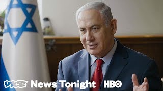 """Netanyahu Says Palestinians Should """"Abandon The Fantasy That They Will Conquer Jerusalem"""" (HBO)"""
