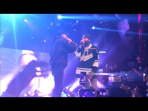"Joyner Lucas brings out Chris Brown to perform ""Stranger Things"""