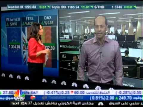 أشرف العايدي على سي ان بي سي العربية -- 18 مارس 2014 Chart