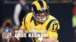 Case Keenum Highlights (Week 15) | Buccaneers vs. Rams | NFL