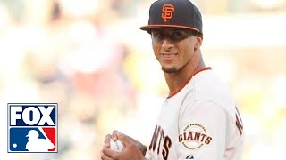 Kaepernick's First Pitch Hits 87 mph at Giants Game