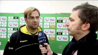 Jürgen Klopp fassungslos nach dem 4:0-Sieg über Hannover