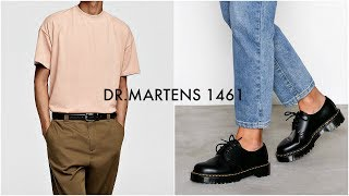 HOW TO STYLE DR. MARTENS 1461 | Men's Fashion | Lookbook | Daniel Simmons
