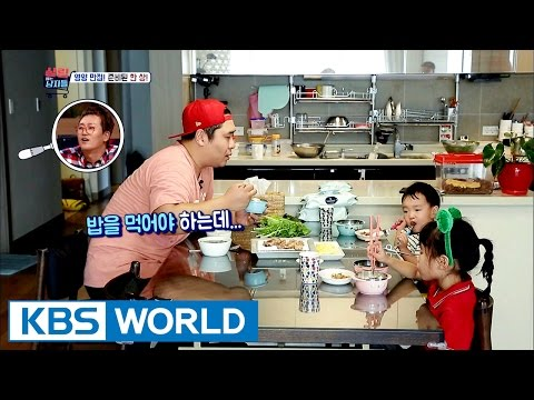 Shocking scene of Moon Seyoon eating pork belly in the morning [Mr. House Husband / 2016.11.22]