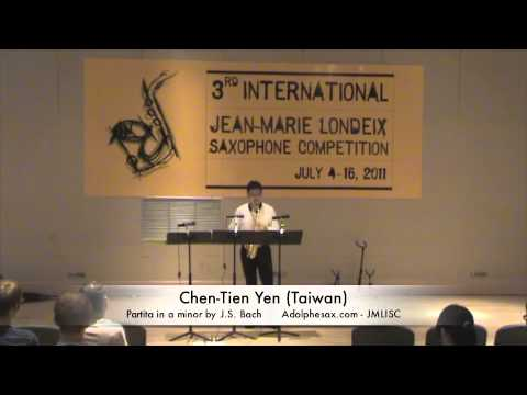 3rd JMLISC: Chen-Tien Yen (Taiwan) Partita in a minor by J.S. Bach