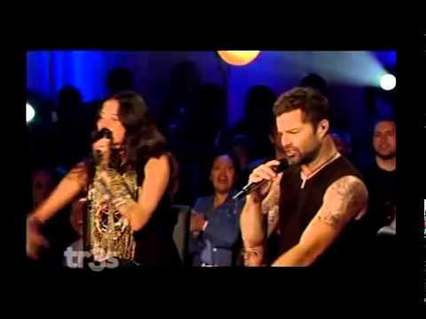 Ricky Martin Lo Mejor De Mi Vida Eres Tu Live