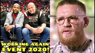 """BREAKING: Dana White and Floyd Mayweather to bring """"spectacular event"""" in 2020, Khabib RIPS Conor"""