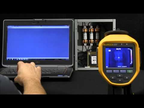How to Wirelessly Download Thermal Images to Your PC from a Fluke Infrared Camera