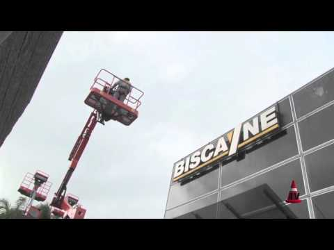 Nueva Línea de Plataformas Dingli Biscayne - Mercado Vial TV
