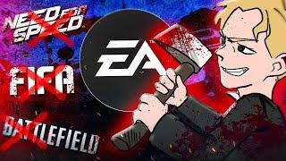 КАК EA УБИЛА СВОИ ИГРЫ И СТУДИИ [Battlefield, Dead Space, Sims, Fifa, Mass Effect и т.д]