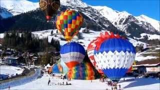 Festival de ballons en suisse