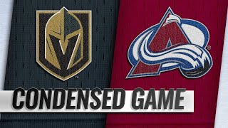03/27/19 Condensed Game: Golden Knights @ Avalanche