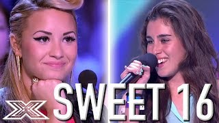 Best 16 Year Old Auditions from X Factor Around The World | X Factor Global