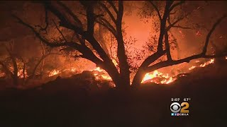 Thomas Fire Not Giving Up