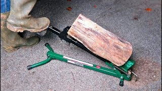 Foot Log Splitter