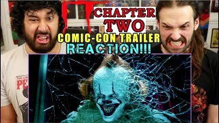 IT CHAPTER 2 | FINAL TRAILER (Comic-Con) - REACTION!!!