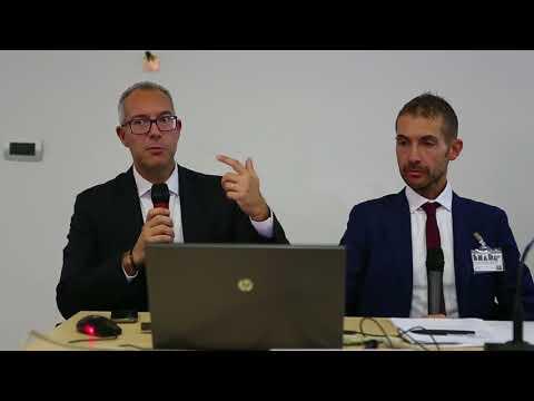 Mario Brescianini di Italtronic al convegno sul betting ad Enada Roma