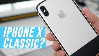 iPhone X Best Case & Skin Combo? Anniversary Skin & Bumper Case!