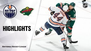 Oilers @ Wild 10/22/19 Highlights