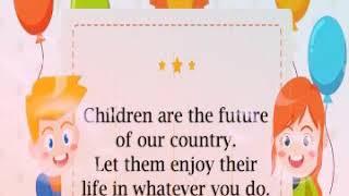 Happy Children Day all my friends video