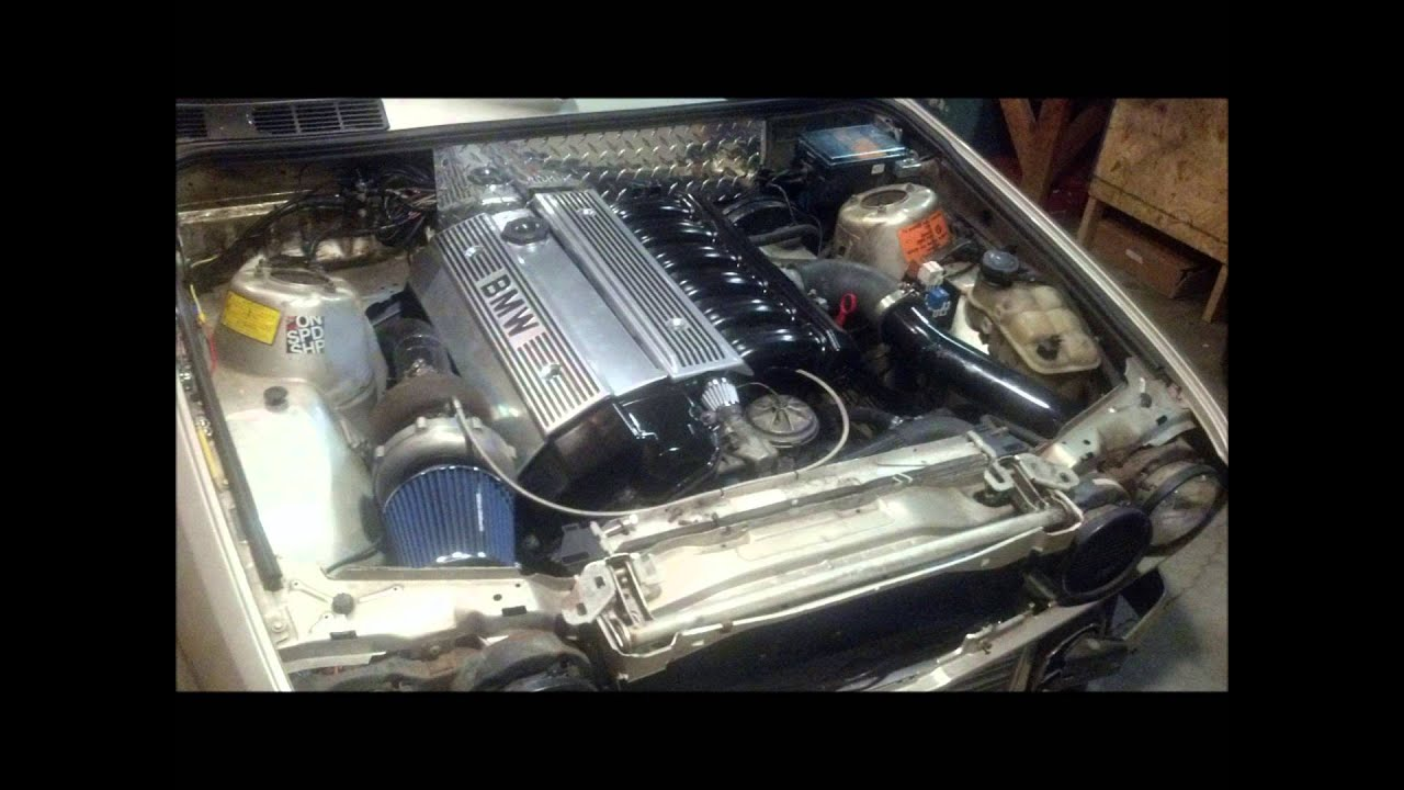 E30 M50 Turbo Gt35r Build Youtube