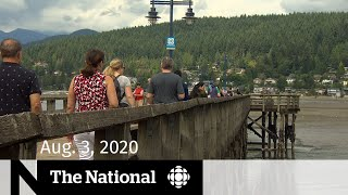 Canadians cram into parks for long weekend — CBC News: The National | August 3, 2020