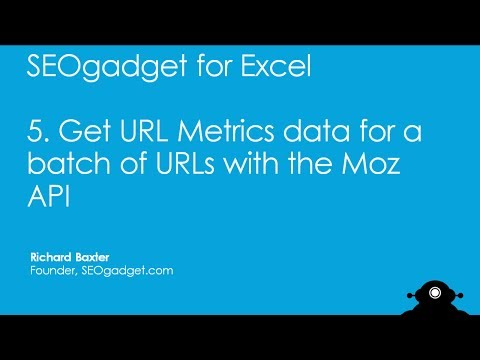 How to Check URL Metrics Data with the Moz API