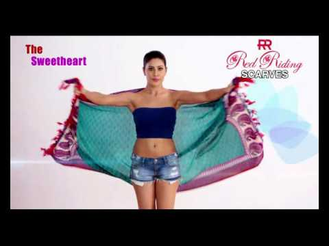 How to Drape Body Scarves - Best Draping Tutorial by Red Riding