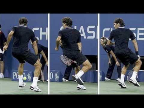 Rewelacyjne zagranie Rogera Federera
